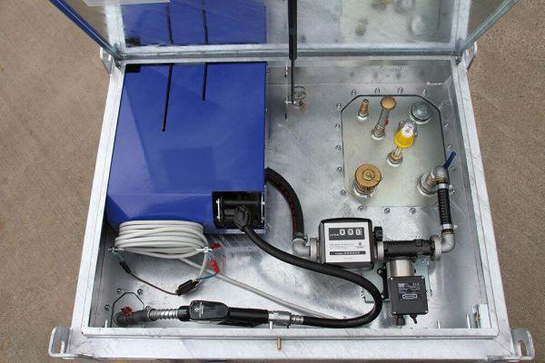 Integrierte Schlauchtrommel für Quadro-C