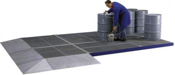 Flächenschutzsystem aus Stahl